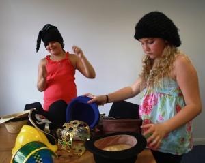 Choosing hats