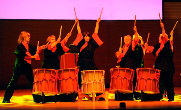 Byre Rhythm Taiko Drumming