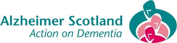 Alzheimer Scotland logo