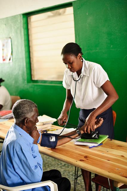 Health in Haiti © Frederic Dupoux/ HelpAge International 2011