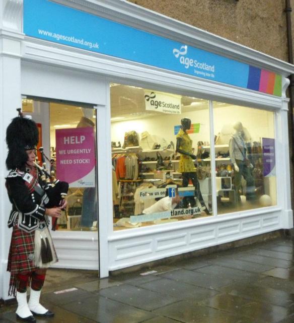Age Scotland, Nicholson Street, Edinburgh