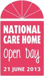Care home open day logo