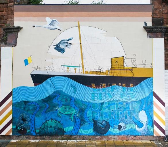 Halmyre Street Mural