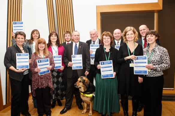 CHSS, Stroke Charter in Scottish Parliament by Flashmunki Photog