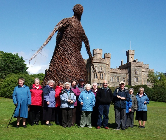 Wicker lady group and Chris Ryan