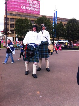Outsize Pipers