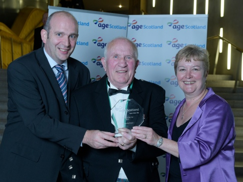 Andy MacDowall, 82, wins Volunteer of the Year Award