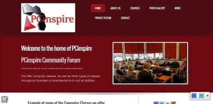 3 pcinspire home page