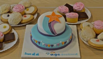 Volunteers Week Cakes