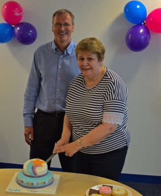 Margaret, Volunteer with Brian Sloan