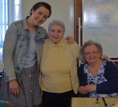 Amy, Bett and Marlene