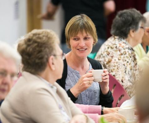 Anne Gallacher, Director of Luminate, Scotland's creative ageing organisation © Eoin Carey